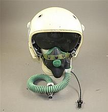 FRENCH GVENEAU 316 FLIGHT HELMET & ULMER 82 O2 MASK