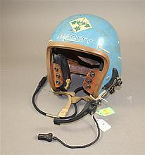 USAF P-113 PILOTS HELMET WITH ARTWORK