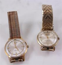2  MENS WATCHES INCLUDING BULOVA AND LONGINES