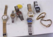 8 WATCHES AND BANDS