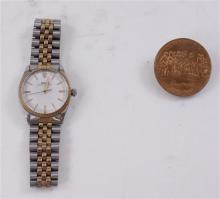 FAUX ROLEX WATCH AND BICENTENNIAL MEDALLION
