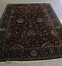 ORIENTAL RUG & UPSCALE FURNITURE