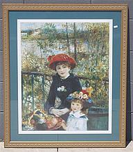 FRAMED ART - WOMAN WITH CHILD, 32