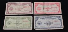 LOT 4 FOREIGN CURRENCY OF PHILLIPPINES