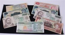 LOT 8 FOREIGN CURRENCY INCLUDING 6 NICARAGUA