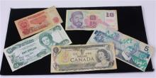 LOT 5 FOREIGN CURRENCY INCLUDING 3 CANADA