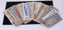 LOT FOREIGN CURRENCY OF VARIOUS COUNTRIES
