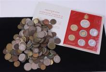 LOT FOREIGN COINS INCLUDING VATICAN