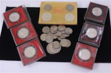 LOT TAIWAN YUAN COINS INCLUDING SILVER