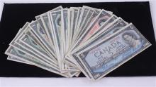 LOT FOREIGN CURRENCY WITH $59 FACE VALUE