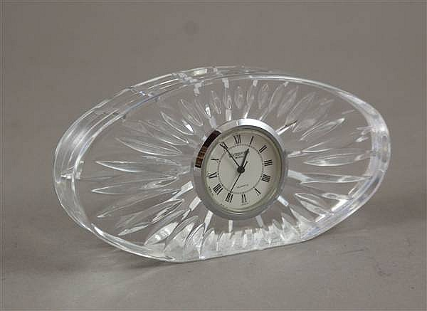 WATERFORD CRYSTAL TABLE CLOCK