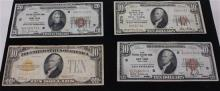 SERIES 1929 U.S. $10 NATIONAL CURRENCY NOTE, THE CHASE NATIONAL BANK OF THE CITY OF NEW YORK, SERIES 1929 U.S. $10 NATIONAL CURRENCY...