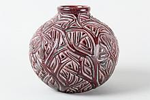 Axel Salto (1889-1961), Vase modelleret med grenværk