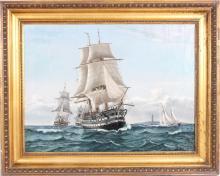 Ubekendt kunstner: Linieskibet