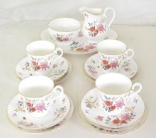 Royal Albert 'China Garden' New Romance 15 Piece Tea Set. 1st Quality.