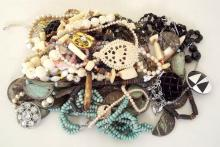 Bag of Costume Jewellery to Include: Necklaces, Bracelets and Rings etc.