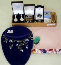 Collection of Costume Jewellery all as new to include; Necklaces, Earrings and Bracelets etc.