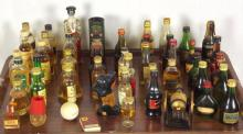 Collection of Brandy / Whisky Miniatures (50 items)