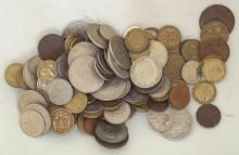 Collection of Great Britain and World Coins. (Over 130 Coins)