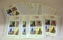 Great Britain 1980 London International Stamp Exhibition Miniature Sheets x 51. Face value £30.