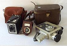 Kodak Six 20 Model D Brownie Camera, Weston Master