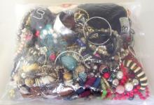 Collection of Unsorted Costume Jewellery in Sealed Bag. 3.3 kg.