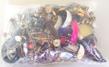 Collection of Unsorted Costume Jewellery in Sealed Bag. 3.6 kg.
