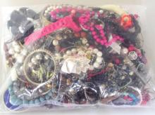 Collection of Unsorted Costume Jewellery in Sealed Bag. 3.1 kg.