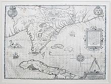 Floridae Americae Provinciae Recens & exactissima descriptio