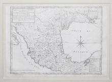 Carte de D'une Partie de L'Amerique Septentrionale, qui Contient Partie de la Nle. Espagne et de la Louisiane…