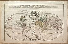 Mappe-Monde Geo-Hydrographique...