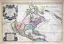 Amerique Septentrionale divisee en ses principales parties...