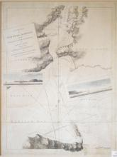 A Chart of New York Harbour with the Soundings Views of Land Marks and Nautical Directions for the Use of Pilotage
