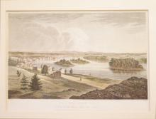 Troy from Mount Ida, No. 11 of the Hudson River Port Folio