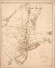 A Map of the Province of New-York.