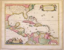 Insulae Americanae in Oceano Septentrionali ac Regiones Adiacentes