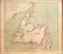 A General Chart of the Island of Newfoundland.