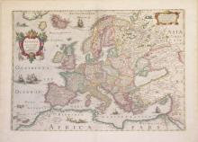 Europae (from Novus Atlas)