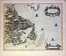 Bleau Map of Flanders hand-colored by master colorist Jansz Van Santen
