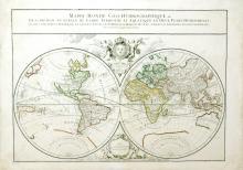 Mappe-Monde Geo-Hydrographique