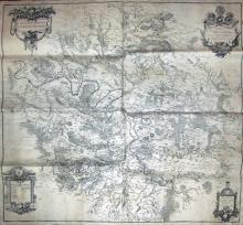Carte particulière des environs de Paris / Par Messrs de l'Académie royalle des sciences en l'année 1674