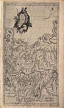 VII feuille qui est proprement la troisieme DU THIBET, et qui contient le pais des environs DU TSANPOU au couchant DE LASA.