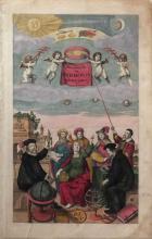 Atlas Title Page from Cellarius Harmonia Macrocosmica