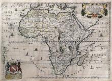 Blome's Africa Map from