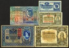 Austro-Hungarian Bank. 1920-23 Issue.