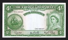 Bahamas Government. 1953 ND Issue.