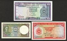 Government of Ceylon and Central Bank of Ceylon Issues.