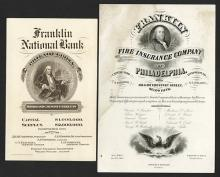 Franklin National Bank and Franklin Fire Insurance Co. of Philadelphia