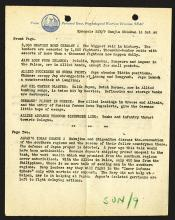 Psychological Warfare Division, SEAC. Synopsis SNJ/10 14.10.1944.