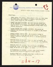 Psychological Warfare Division, SEAC. Synopsis SNJ/17 9.12.1944.
